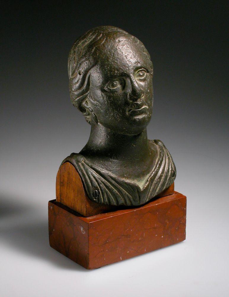 Illustration for  A Female Bust
