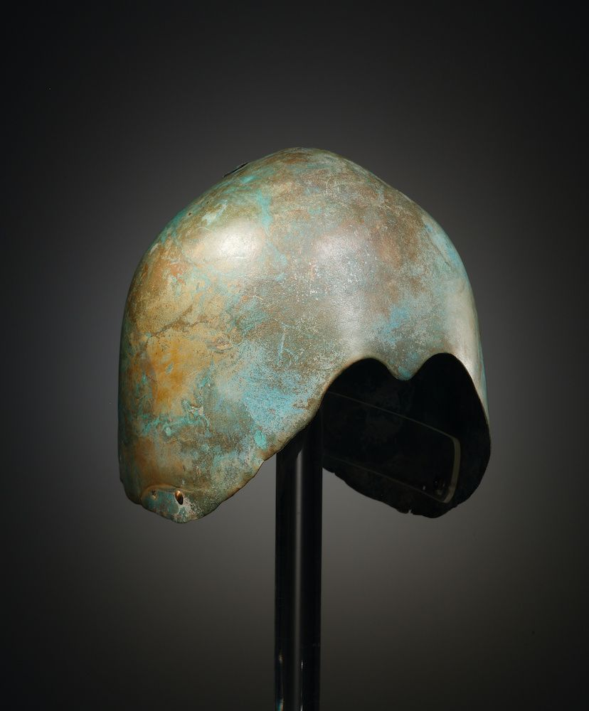 Illustration for  A Levantine Bronze Helmet